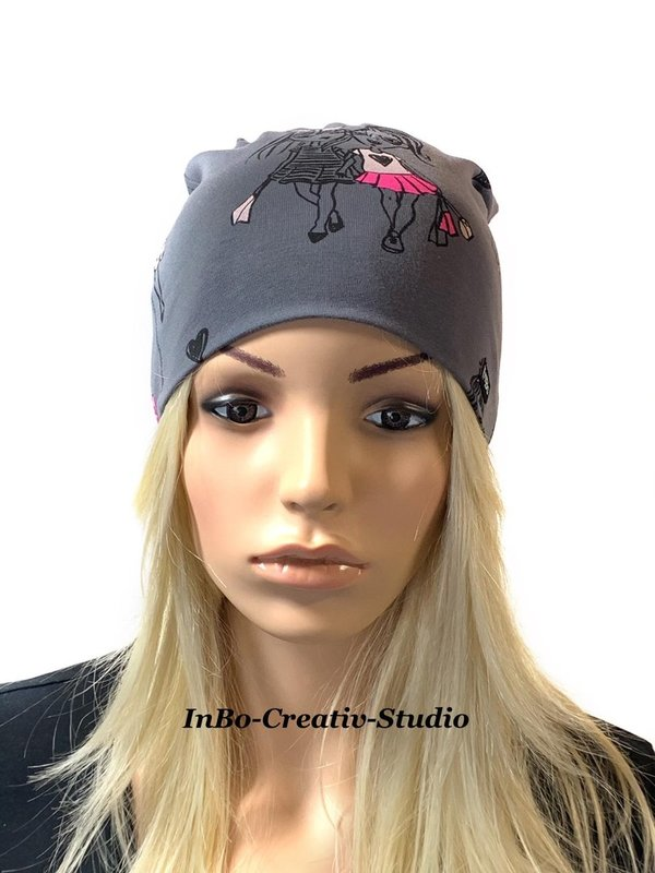 "Beanie, grau "" Fashion Girls """